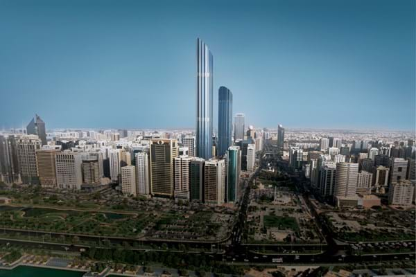 World Trade Center Tower - Burj Mohammed Bin Rashid