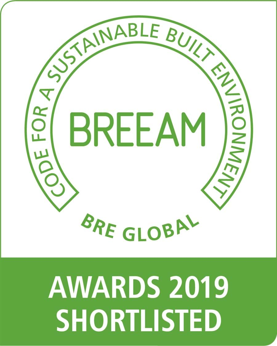 Two BREEAM Award nominations for chapmanbdsp