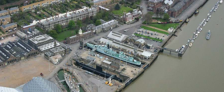 Kent office relocation to the Historic Dockyard in Chatham