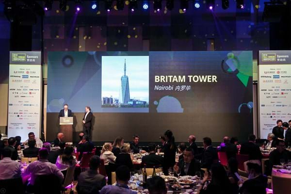 Britam Tower wins prestigious engineering award