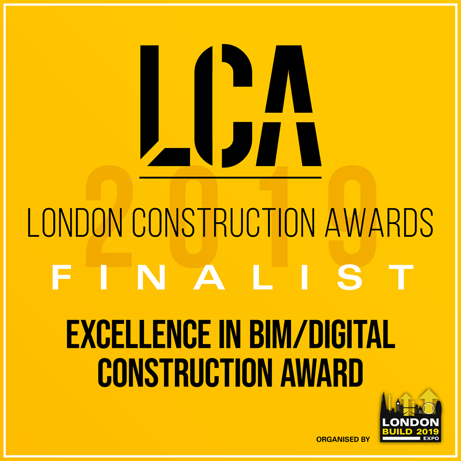 Innovative use of BIM is shortlisted for London Construction Award